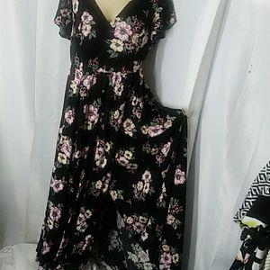 Torrid Maxi Floral PRINT Dress